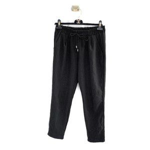 Oak + Fort Pinstripe Dressy Jogger Pants